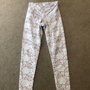 DYI Floral Yoga Pants